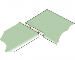 Template for trimming worktops PFE60